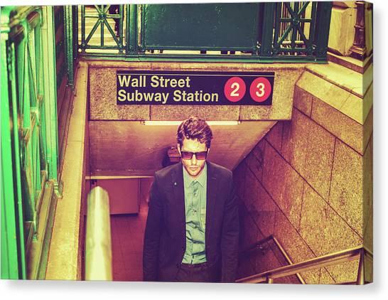 New York Subway Station Canvas Print