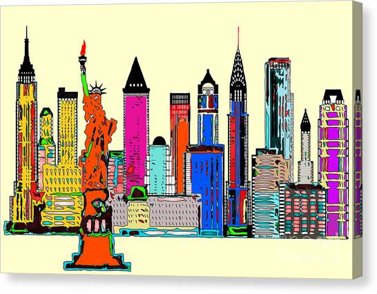 New York - The Big City Canvas Print