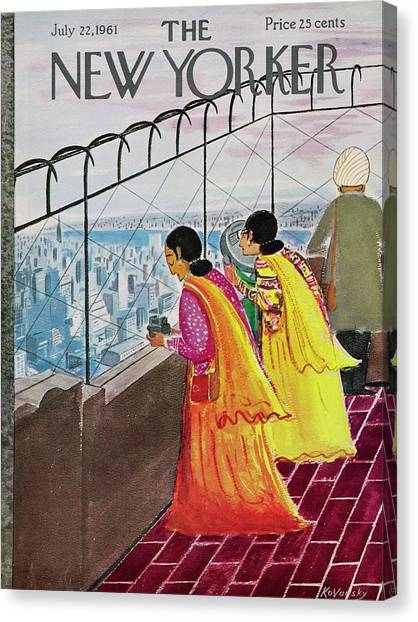 New Yorker July 22 1961 Canvas Print