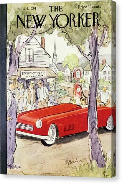 New Yorker September 4 1954 Canvas Print