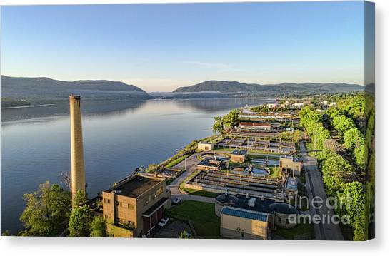 Newburgh And The Hudson Highlands Canvas Print
