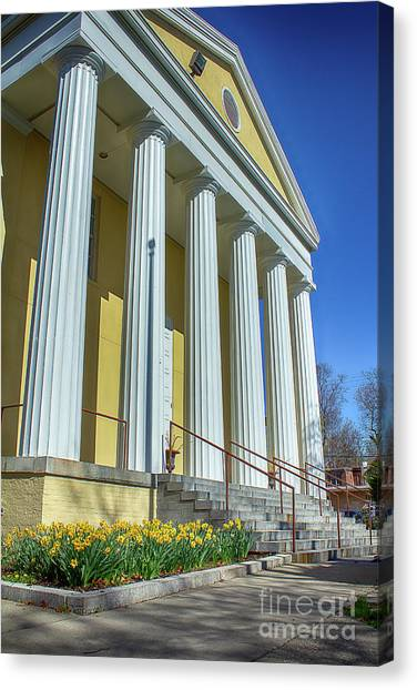 Newburgh Courthouse On Grand Street 2 Canvas Print