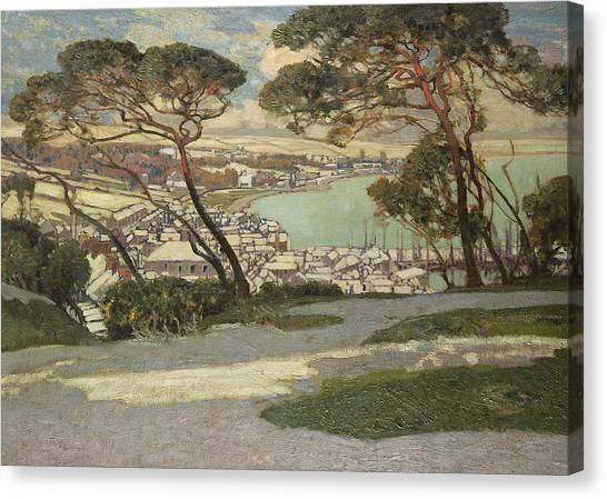 St Ives Canvas Print - Newlyn   Penzance by Sir Alfred East
