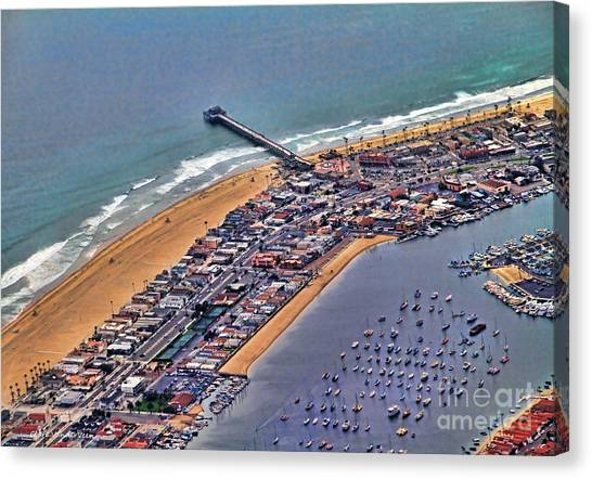 Newport Beach Flyover Canvas Print
