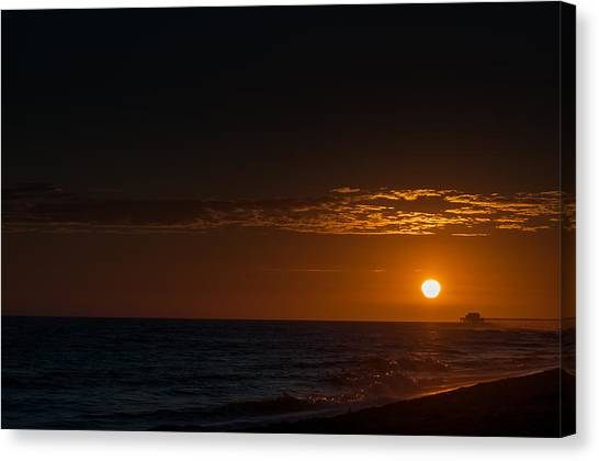 Newport Beach Sunset Canvas Print