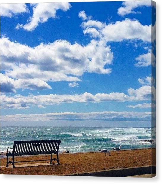 Rhode Island Canvas Print - Ocean Drive by Kate Arsenault