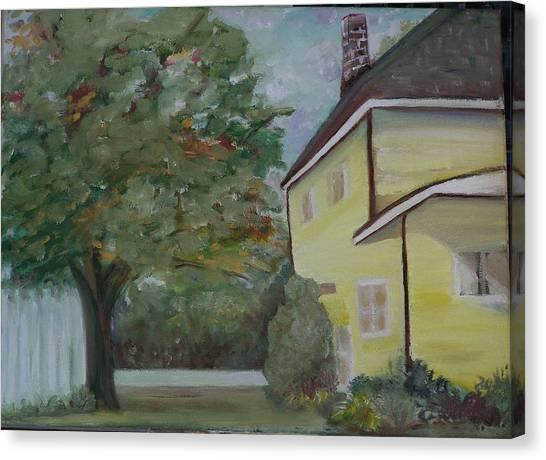 Nh Home  Canvas Print by Pamela Wilson