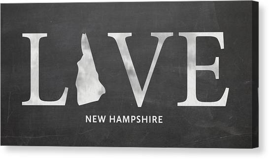 Dartmouth College Canvas Print - Nh Love by Nancy Ingersoll