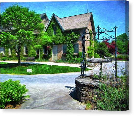 Niagara Falls Botanical Garden Y1 Canvas Print