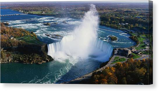 Horseshoe Falls Canvas Print - Niagara Falls Ny by Panoramic Images