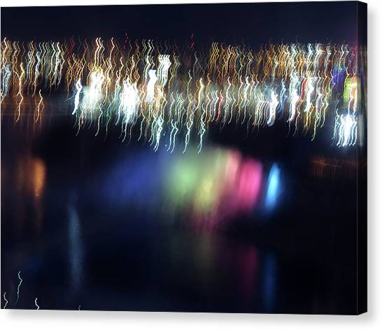 Light Paintings - Ascension Canvas Print