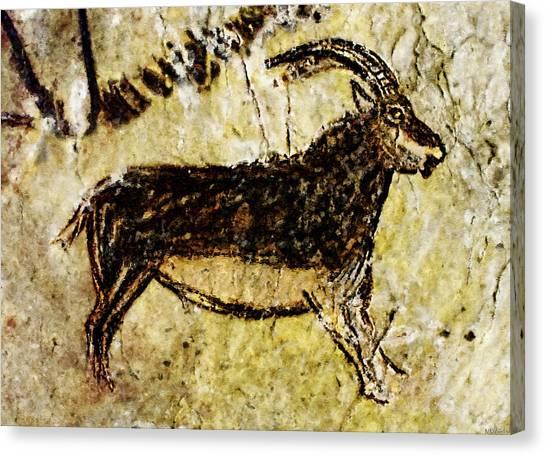 Niaux Goat Canvas Print