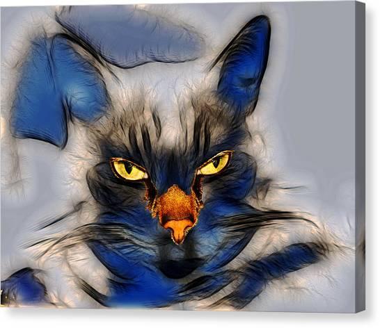 Nice Pussy Cat Canvas Print