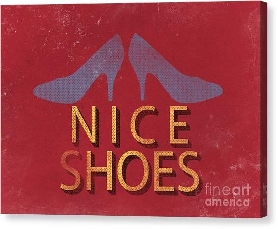 Shoe Canvas Print - Nice Shoes  by Edward Fielding