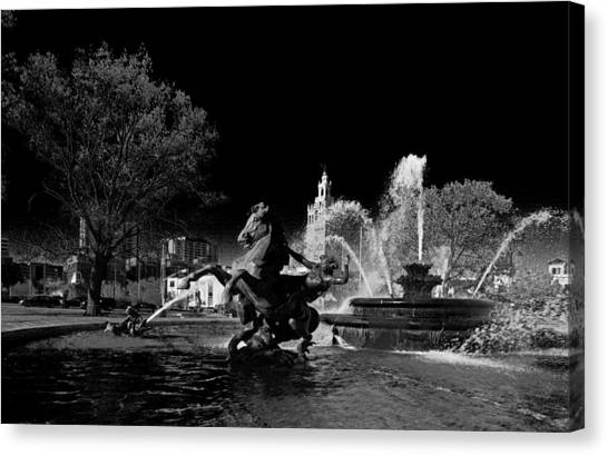 Nichols Fountain Canvas Print
