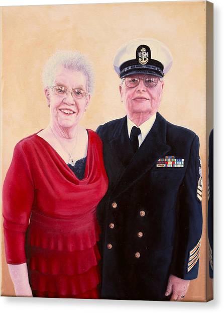 Nichols Portrait Canvas Print