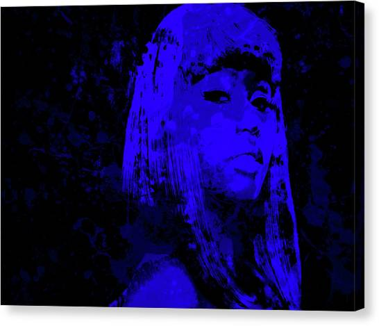 Wu Tang Canvas Print - Nicki Minaj 4b by Brian Reaves