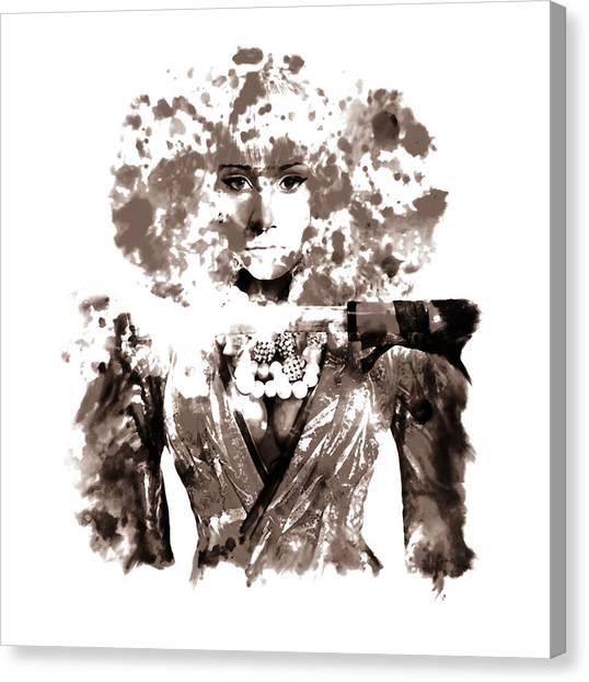 Wu Tang Canvas Print - Nicki Minaj 5k by Brian Reaves