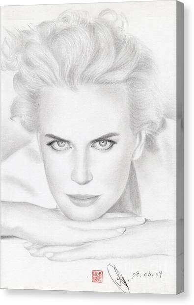 Nicole Kidman Canvas Print