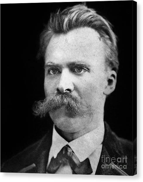 Philosophy Canvas Print - Nietzsche by German School