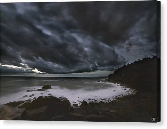 Night At Boulder Beach Canvas Print