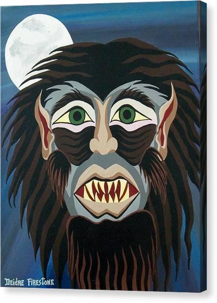 Night Cries Canvas Print by Deidre Firestone