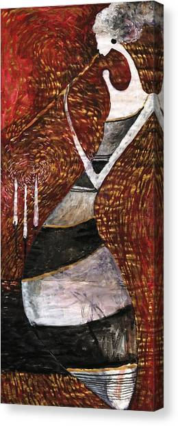 Night Flute Canvas Print