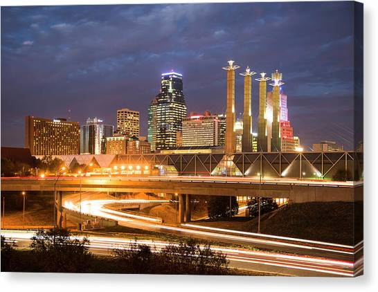 Night Kc Canvas Print