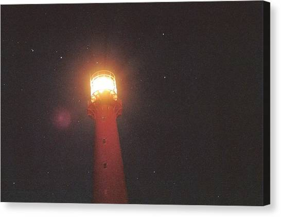 Night Light Canvas Print by Gregory Barger