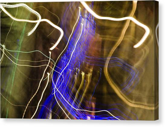Night Lights 2 Canvas Print by Layne Hardcastle