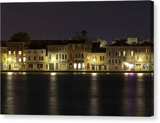 Night Lights Canvas Print