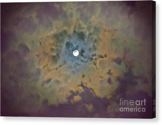Night Moon Canvas Print