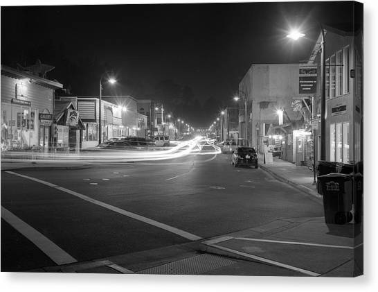 Night Moves Canvas Print by HW Kateley