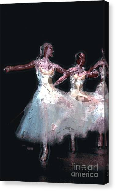 Night Of The Ballet Canvas Print