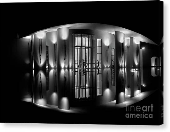 Night Reflection Canvas Print