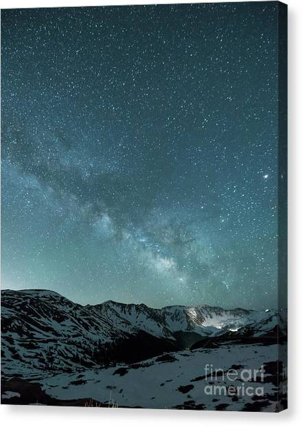 Colorado Rockies Canvas Print - Rocky Mountain Magic by Juli Scalzi