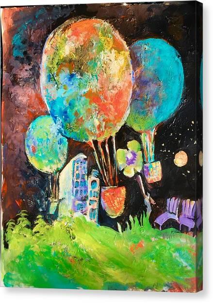 Night Soaring Canvas Print