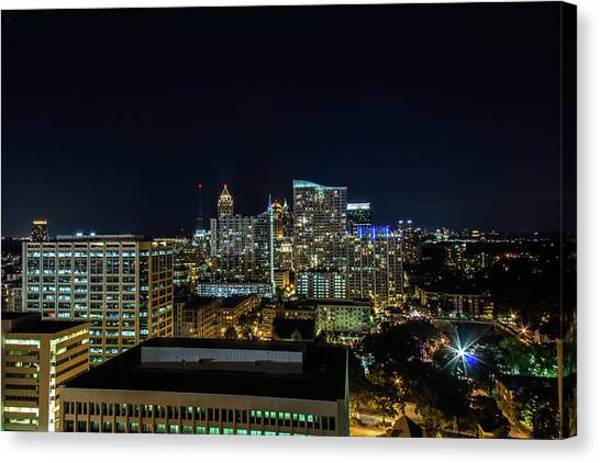 Night View  Canvas Print