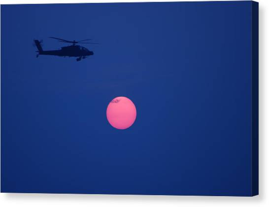 Night Watch 2 Canvas Print by Don Prioleau