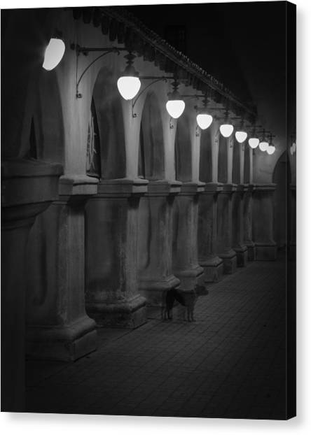 Night Watchman Canvas Print