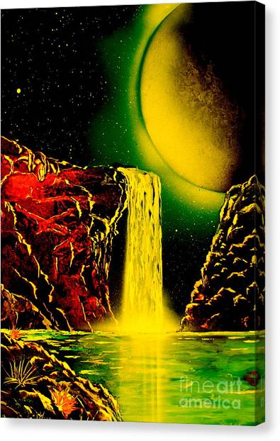 Nightfalls 4679 Canvas Print