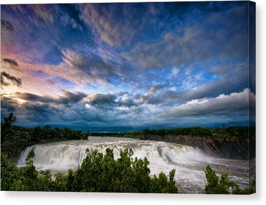 Nightfalls Canvas Print