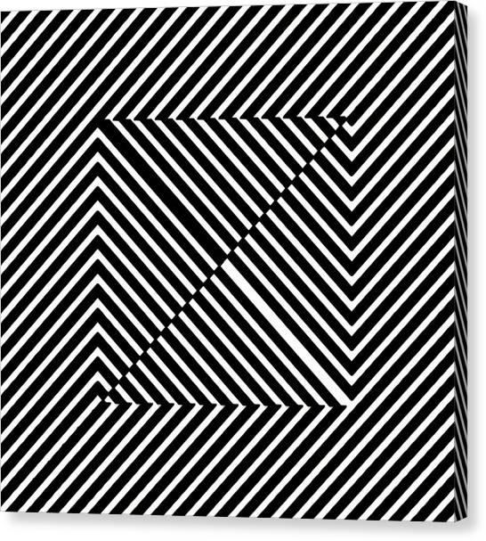 Nightlife Illusions Canvas Print