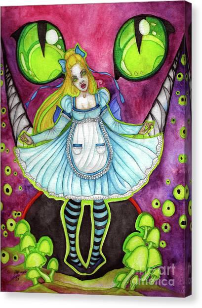 Nightmare Canvas Print by Coriander Shea
