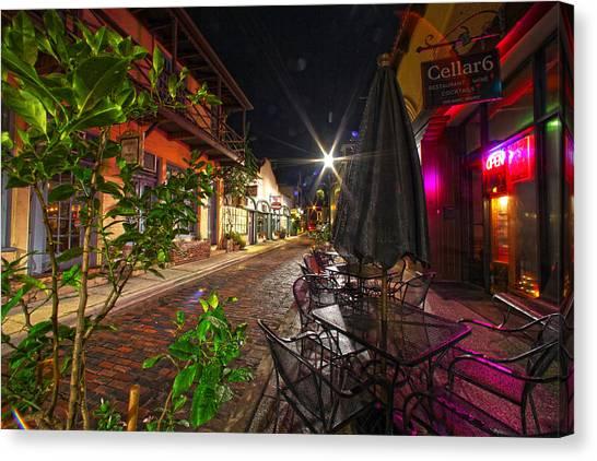 Nights In Oldtown Canvas Print