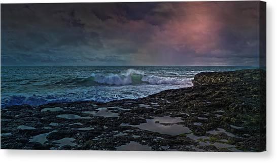 Tumbling Canvas Print - Nightscape by Betsy Knapp