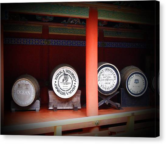 Monastery Canvas Print - Nikka Whiskey by Naxart Studio