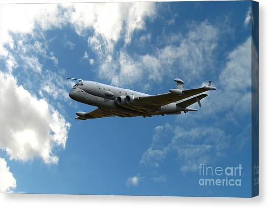 Air Force Canvas Print - Nimrod Patrol by Smart Aviation