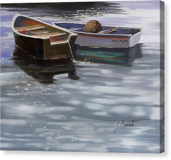 Shadows Canvas Print - Nina by Guido Borelli