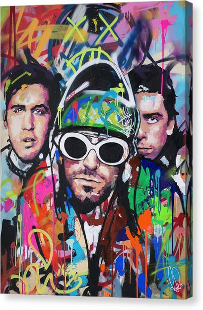 Street Fighter Canvas Print - Nirvana by Richard Day
